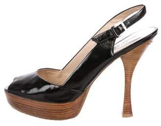 MICHAEL Michael Kors Patent Leather Platform Pumps