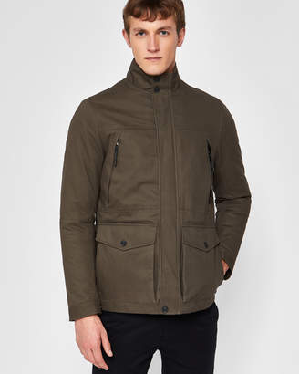 Ted Baker NILSON Quilted cotton 2-in-1 field jacket
