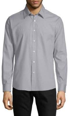 Hyden Yoo Classic Slim-Fit Cotton Button-Down Shirt