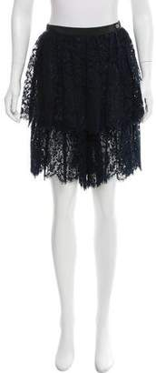 Chanel High-Rise Lace Shorts