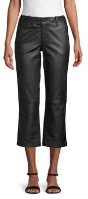 Zadig & Voltaire Cropped Leather Pants
