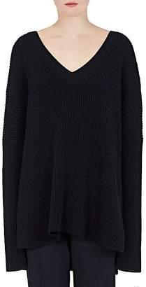 Stella McCartney Women's Wool Oversized V-Neck Sweater
