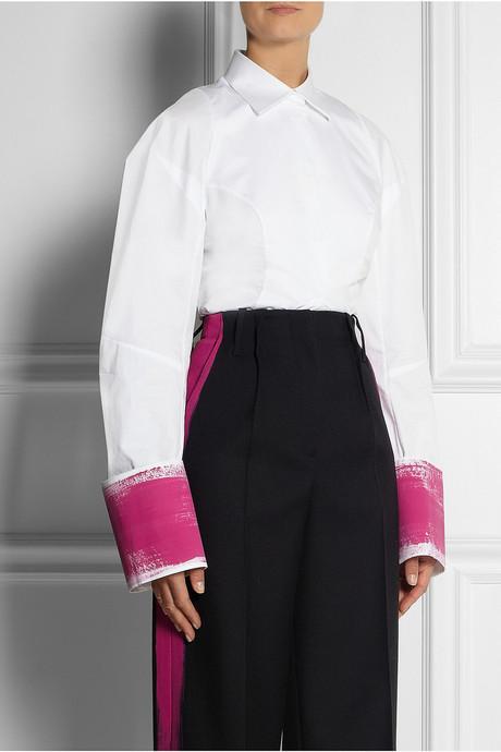 Maison Martin Margiela Hand-painted cotton shirt