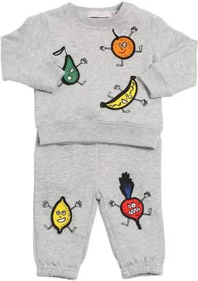 Stella McCartney Patch Cotton Fleece Sweatshirt & Pants