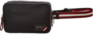 Bally Folys Nylon Sling Belt Bag