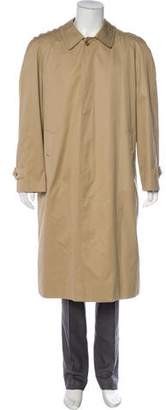 Burberry Vintage Nova Check Lined Trench Coat