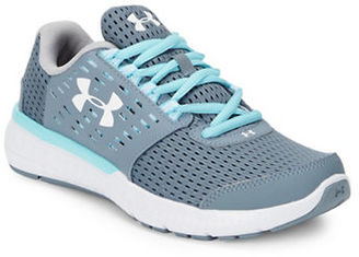 Under Armour Micro G Motion Sneakers $79.99 thestylecure.com