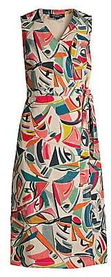 Lafayette 148 New York Women's Pammie Sleeveless Wrap Dress - Size 0