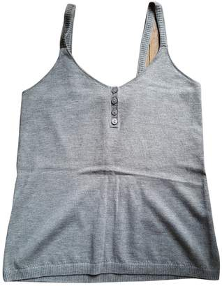 Princesse Tam-Tam Grey Cotton Top for Women
