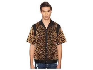 DSQUARED2 Printed Viscose Shirt Men's Clothing