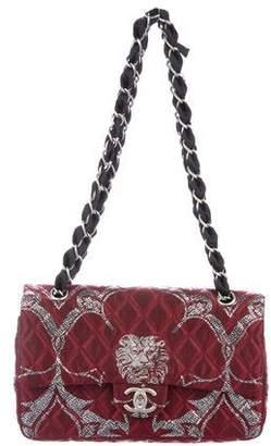 Chanel Leo Lion Brocade Double Flap Bag