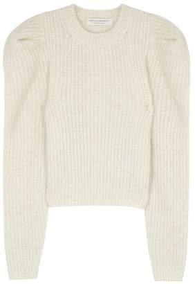 Philosophy di Lorenzo Serafini Cream Ribbed-knit Jumper