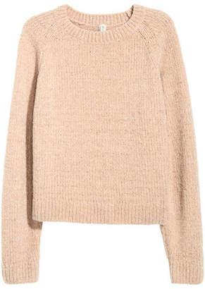H&M Chenille Sweater - Orange