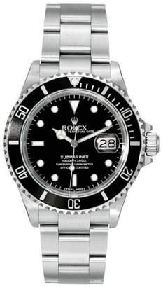 Rolex Submariner 16610 Black Dial 40mm Mens Watch