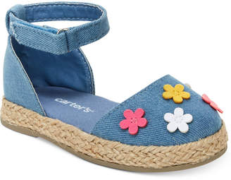 Carter's Brea Espadrille Sandals, Toddler Girls & Little Girls