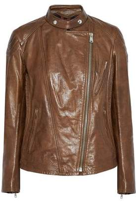 Belstaff Colbert Cracked-Leather Biker Jacket