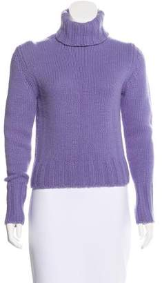 Burberry Cashmere & Wool-Blend Knit Turtleneck