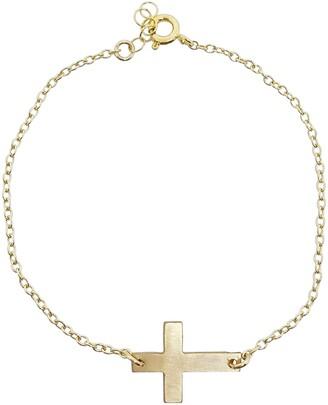 Nashelle Cross Charm Bracelet