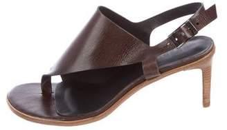 Tibi Slingback Thong Sandals