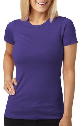 Clementine Apparel Women's Short Sleeve Jersey Crewneck T-Shirt