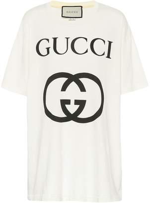 ad5f12c9be9f Gucci Logo Print T-shirt - ShopStyle