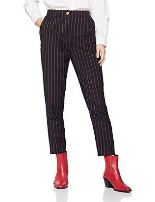 New Look Women's Pinstripe Pull On Trousers,(Manufacturer Size:8)