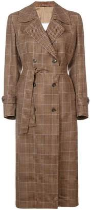 Giuliva Heritage Collection checked trench coat