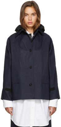 Kassl Editions SSENSE Exclusive Navy D-Hip Jacket
