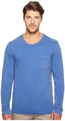 Alternative Brushed Supima Cotton w/ Sun-Dried Wash Saltwater Long Sleeve Tee Men's T Shirt