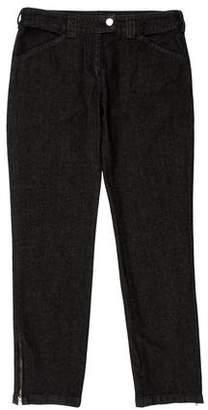 Balenciaga Low-Rise Cropped Jeans w/ Tags