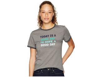 Life is Good Today is a Good Day Ringer Cool T-Shirt