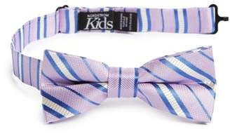 Nordstrom Candy Stripes Silk Bow Tie