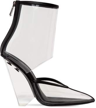 Balmain 95mm Livy Pvc Ankle Boots
