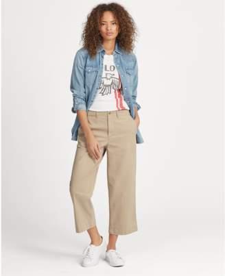 Polo Ralph Lauren Wide-Leg Twill Pant