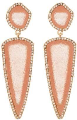 BaubleBar Moonbeam Druzy Drop Earrings