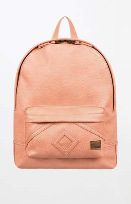 Roxy Wild Air Faux Leather Backpack
