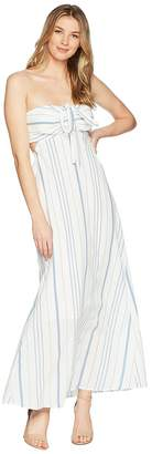 1 STATE 1.STATE Cinched Bodice Maxi Dress Women's Dress