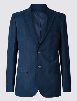Marks and Spencer Textured Regular Fit Jacket
