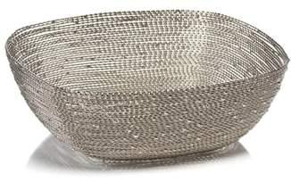 Zodax Zulu Small Square Woven Wire Basket
