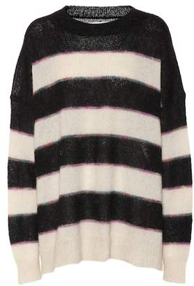 Etoile Isabel Marant Isabel Marant, Étoile Reece striped mohair-blend sweater