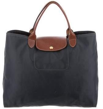 Longchamp Medium Le Pliage Handle Bag - BLUE - STYLE