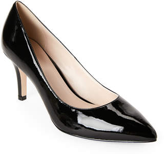 Cole Haan Black Juliana Patent Leather Pointed Toe Pumps