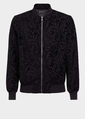 Versace Velvet Baroque Jacket