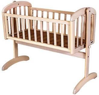John Lewis Anna Swinging Crib, White Wash