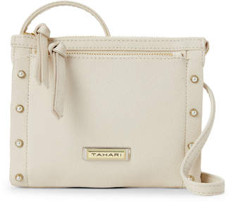 Tahari French Vanilla Pearls Mini Crossbody