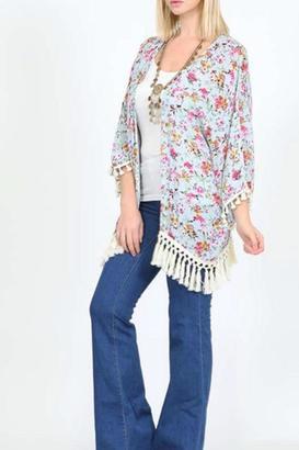 KORI AMERICA Spring Bloom Kimono $33 thestylecure.com
