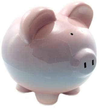 "Child to Cherish 7.5"" Raspberry Ombre Bank Piggy Bank Save Money"
