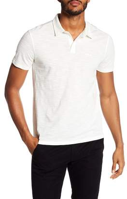 John Varvatos Textured Stitch Polo