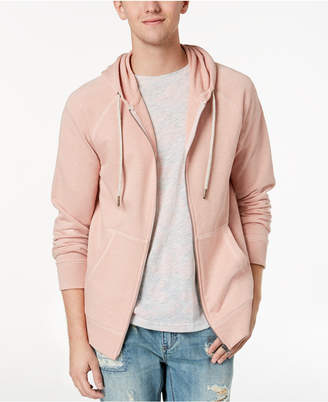 American Rag Men's Pink Textured Hoodie, Created for Macy's