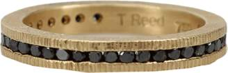 Todd Reed Channel Set Black Diamond Eternity Ring